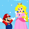 Mario and Princess Peach Dress Up
